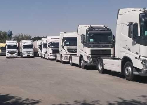 ترخیص کامیون های وارداتی از گمرک