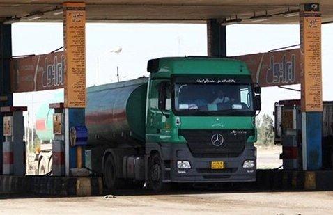 درگیری متصدی جایگاه سوخت با راننده کامیون