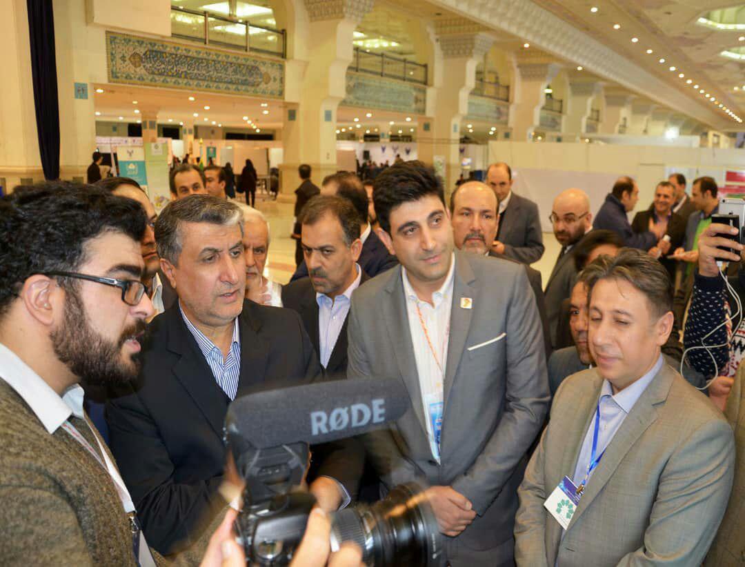 نمایشگاه شهر هوشمند با حضور وزیر راه و شهرسازی