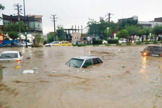خسارت های ناشی از سیلاب در کشور