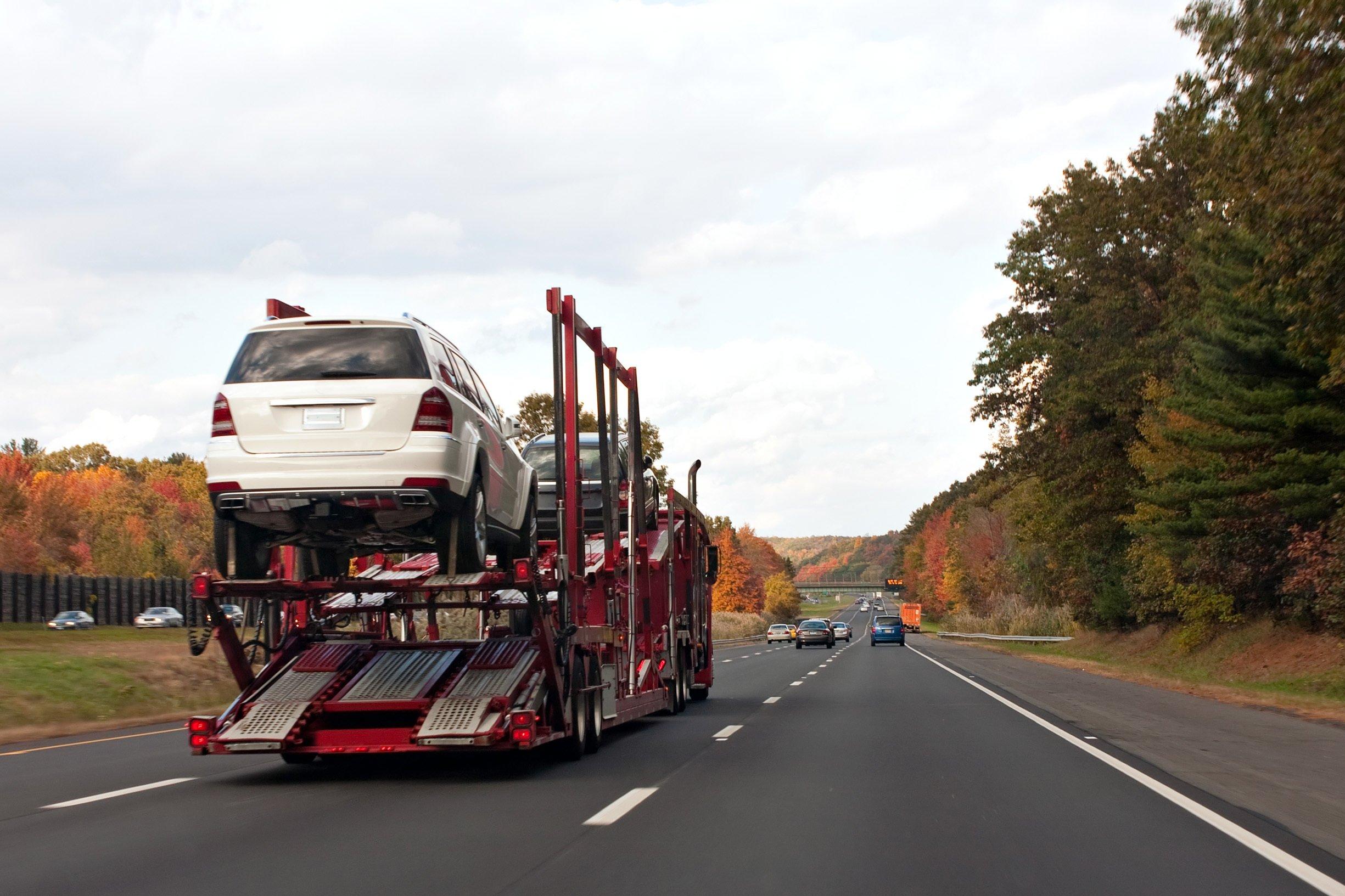 حمل خودرو با سامانه هوشمند نت بار